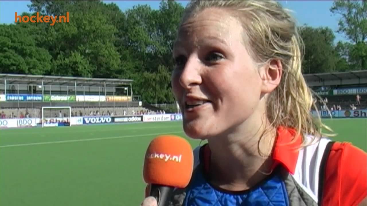 Carlijn Welten Hockeynl TV Carlijn Welten 39Ik geniet echt van elke