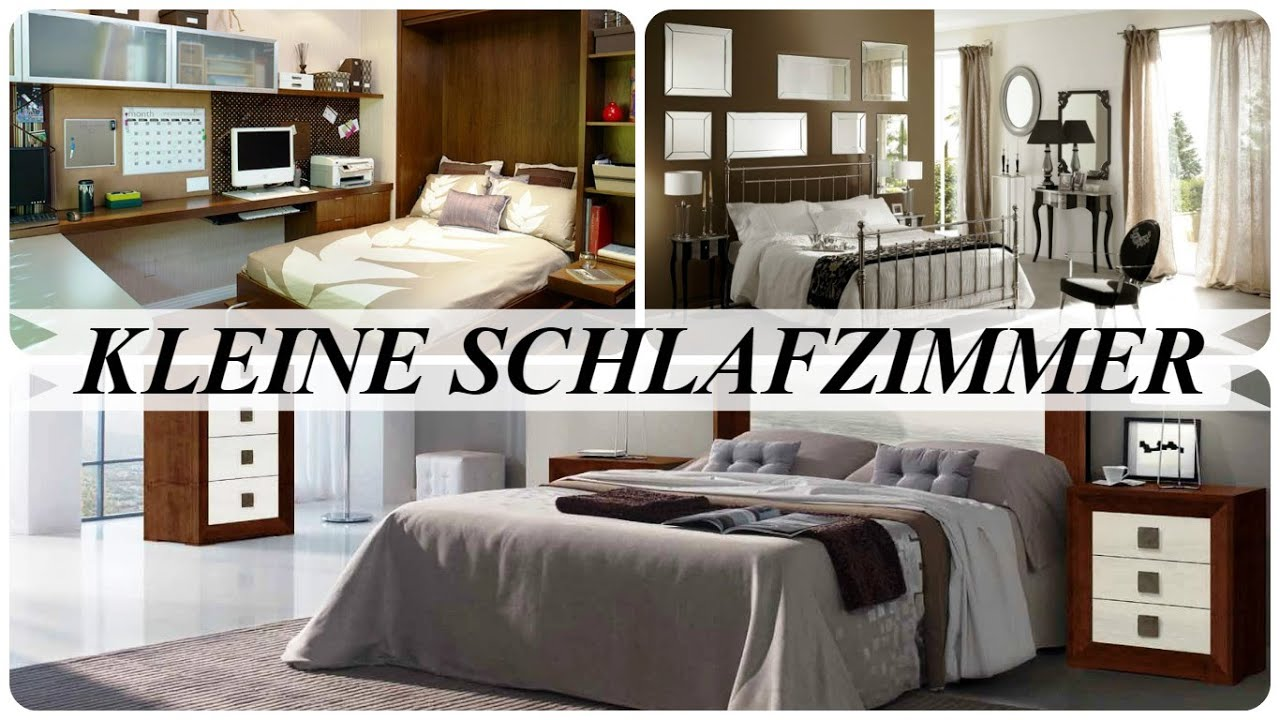 kleine schlafzimmer youtube. Black Bedroom Furniture Sets. Home Design Ideas