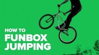 Как прыгать фанбокc на MTB (How to funbox jumping MTB)(Иван Новиков рассказывает, как правильно учиться прыгать фанбокс. Обучение трюкам и новые хау-ту: iPhone http://goo..., 2013-06-06T04:04:35.000Z)