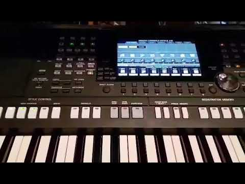yamaha psr 975 drums set demo youtube. Black Bedroom Furniture Sets. Home Design Ideas