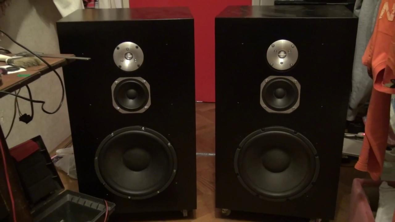 Speaker Box Enclosure Cabinet Diy Painted Youtube