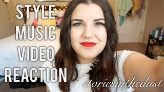 STYLE MUSIC VIDEO REACTION | storiesinthedust