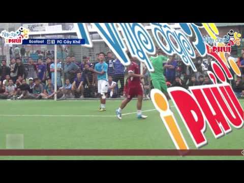 Highlight Ecofoot - FC Cây Khế Chung kết giải Sưởi Âm Mùa Đông.