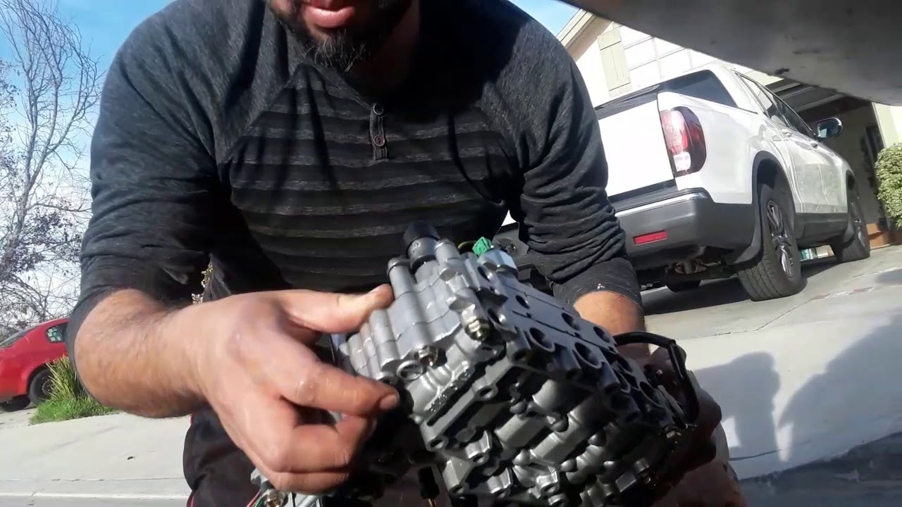 Transmission valve body replacement! Nissan maxima 2007!