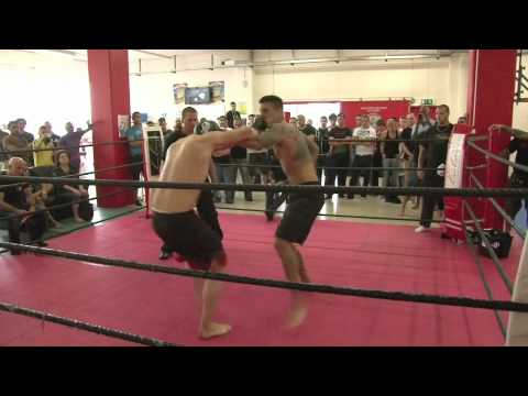 Shooto Amateur Basel: Marco Wüst vs. Anthony Klein