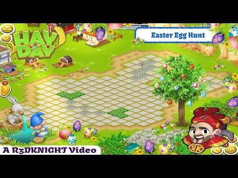 Hay Day Live Stream 2019 #25 - Easter Egg Hunt