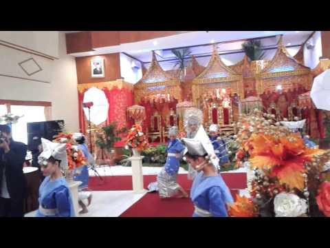 #UKMSenja Tari Pasambahan Minang || Minangkabau Traditional Dance on Weding Party