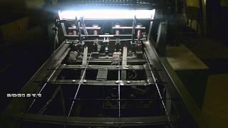 многоточечная контактная сварка кладочной сетки(многоточечная контактная сварка (автомат) для производства кладочной сетки .регулировка ячейки 50х50,100х100..., 2015-06-03T17:48:54.000Z)