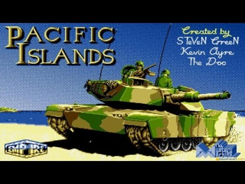 Pacific Islands gameplay (PC Game, 1992)