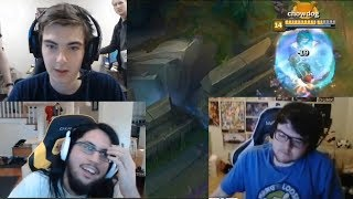 Dyrus' Rage Moment *PUNCH* | Zven Is At The Tsm House | Imaqtpie Got One Shot By Shiphtur | LoL
