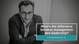 Gambar cover Management vs. Leadership