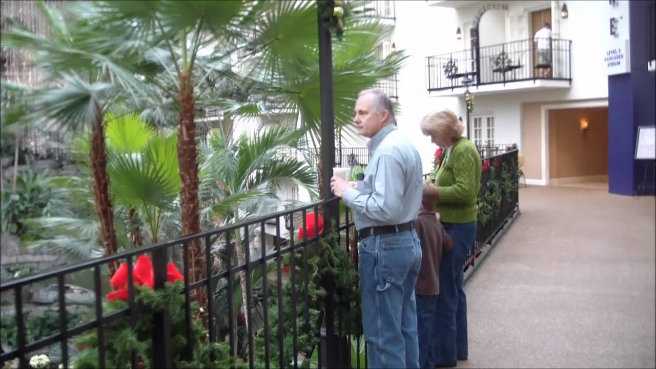 YouTube Gaylord Opryland Hotel