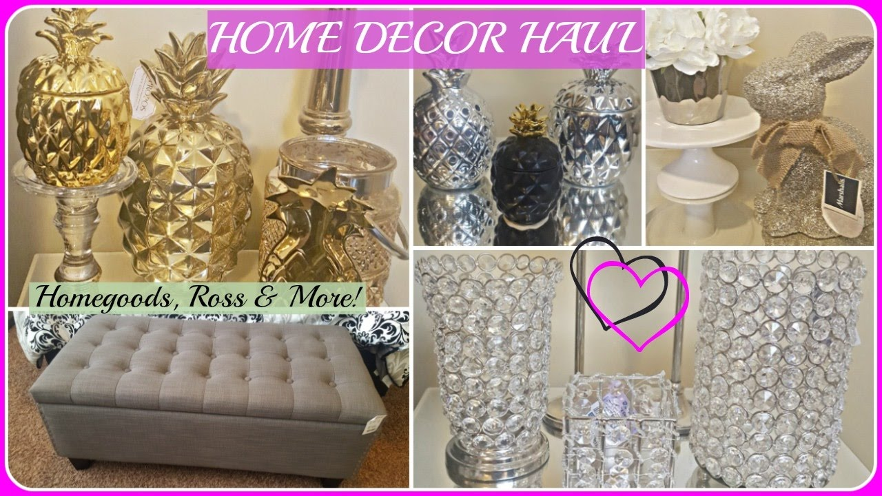 Home Decor Haul 2017 Homegoods Marshalls Ross H M