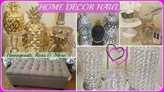 HOME DECOR HAUL 2017🍍Homegoods, Marshalls, Ross, H&M