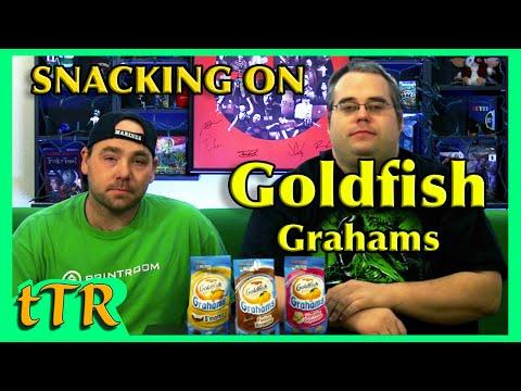 Snacking On Goldfish Grahams