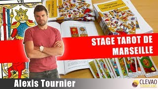 Stage Tarot de Marseille par Alexis Tournier @ Clevao Formations