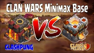 MiniMax TH10 vs MiniMax TH11 ~ Clan Wars 50 War Win Streaks ~ Clash of Clans