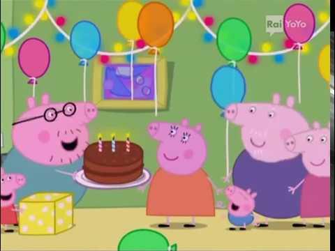 Peppa Pig Italiano S01e21 Il compleanno della Mamma   YouTube