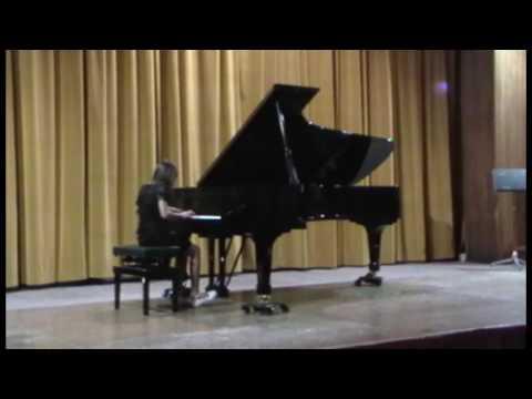 Michelle Callipo Conservatorio Bellini Palermo