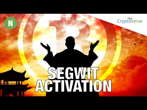⏰26 Hrs Till New Segwit Lock-in Period / Bitcoin Cash Trades $392 / SEC Decides ICOs Are Securities