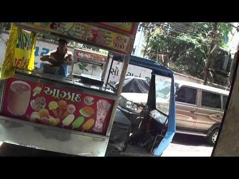 At Azad Kulfi Ice Cream shop & manufacturer in Navsari, Gujarat, India; 28th May 2012