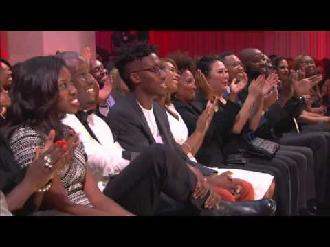 Tichina Arnold Pays Tribute To James Brown At Triumph Awards 2015