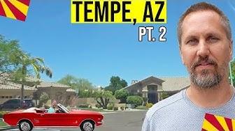 Tempe, Arizona Tour: South Tempe, AZ | Moving / Living In Phoenix, Arizona Suburbs (Pt. 2)