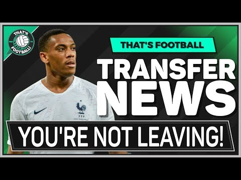 Man Utd REFUSE Anthony MARTIAL Transfer! LATEST Transfer News