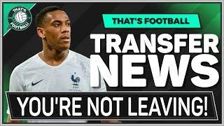 Man Utd REFUSE Anthony MARTIAL Transfer! LATEST Transfer News