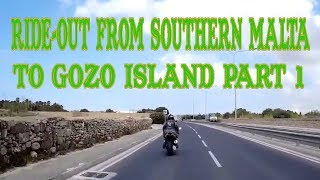 Ride-Out From Southern Malta To Gozo Island PART 1 thumbnail