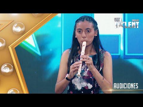 ¡QUÉ ALEGRÍA! ESTELITA tocó HEY JUDE con su flauta