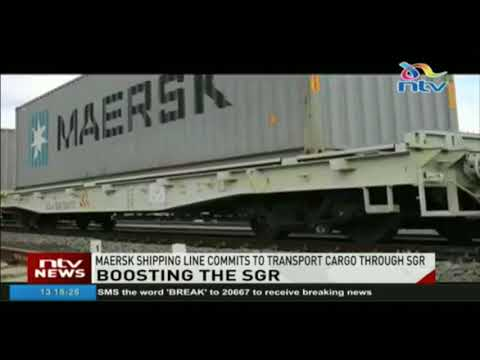 Maersk shipping line commits to transport cargo through SGR