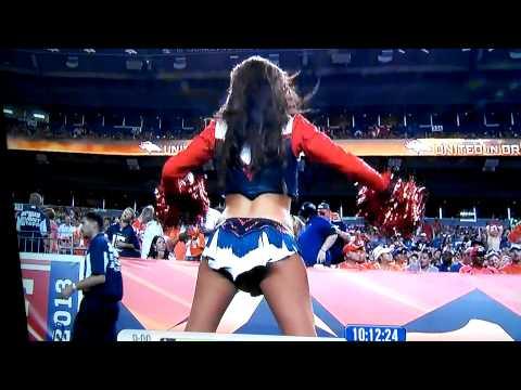Denver Bronco cheerleader