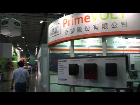 PV Taiwan 2015 in Taipei World Trade Center-Nangang Exhibition Center in Taipei, Taiwan