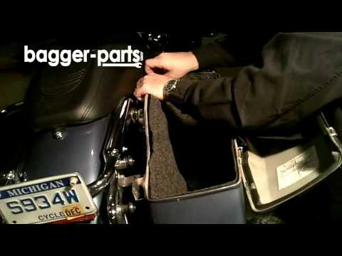 Softside Liners for Harley Touring Saddlebags | 888-775-7547 | Bagger-Parts.com