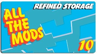 ALL THE MODS español | Ep | 10 Refined storage