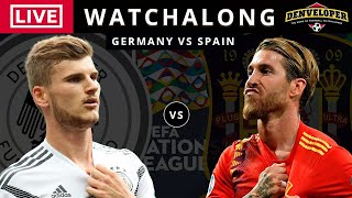 Germany vs Spain LIVE STREAM Full Match Football Watchalong Nations League 2020