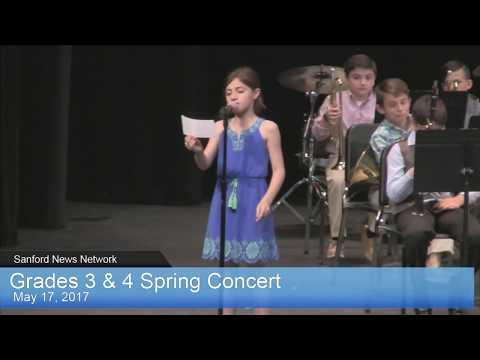 Grade 3-4 Spring Concert
