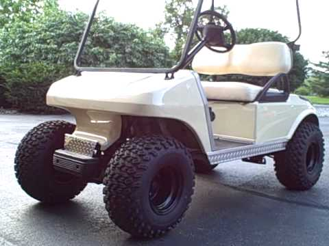2005 Club Car 48 Volt Electric Golf Cart Dseiq New Batteries