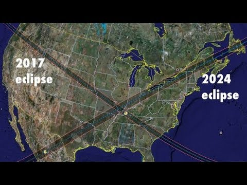 Next full solar eclipse arrives in 2024: but only parts of Canada will see it.
