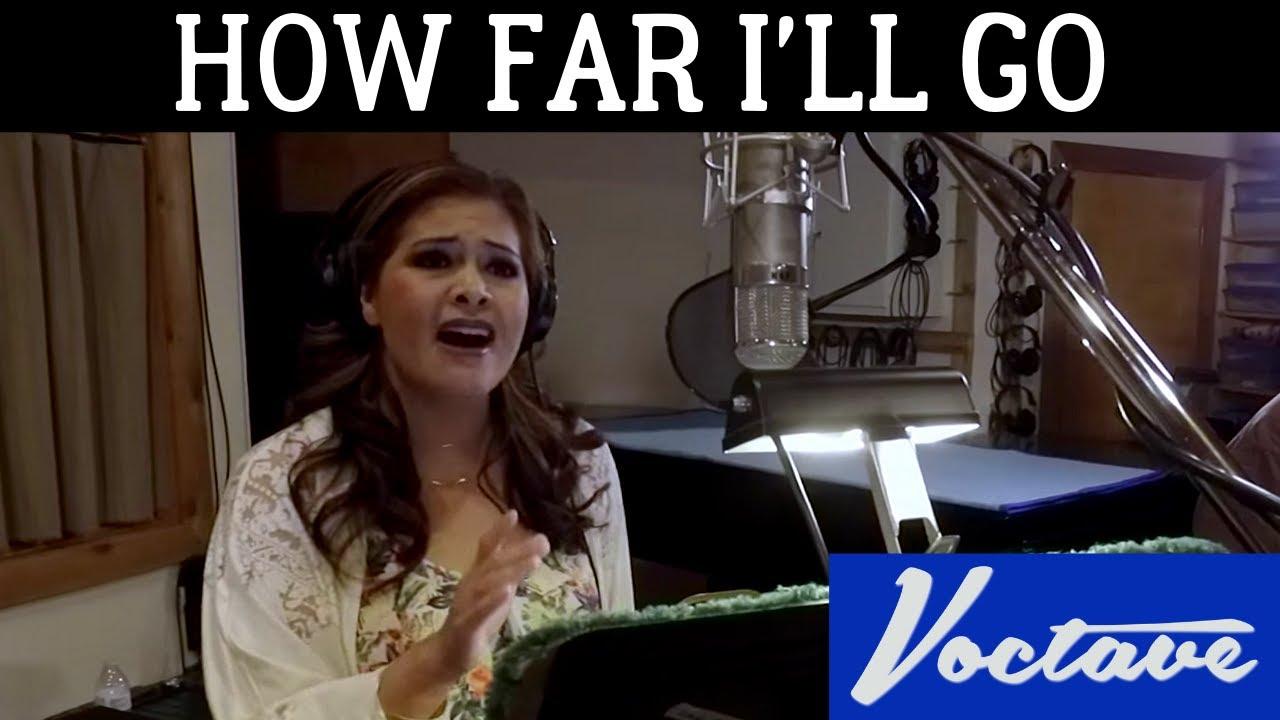 Voctave - How Far I'll Go - YouTube