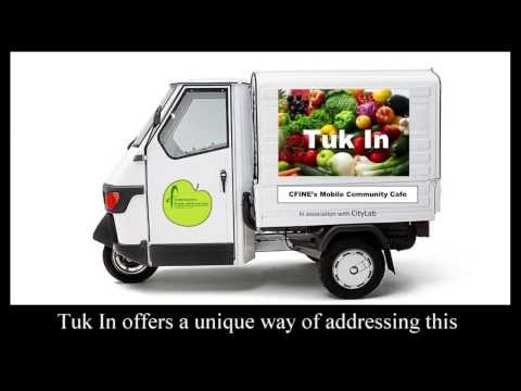 Tuk In Mobile Community Cafe Crowdfunding Appeal