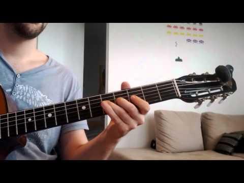 Learn Midnight in Paris (Bistro Fada) VERY SLOW VERSION (90 bpm metronome)