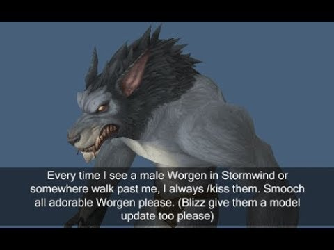 My worgen alpha and  2018 model questions