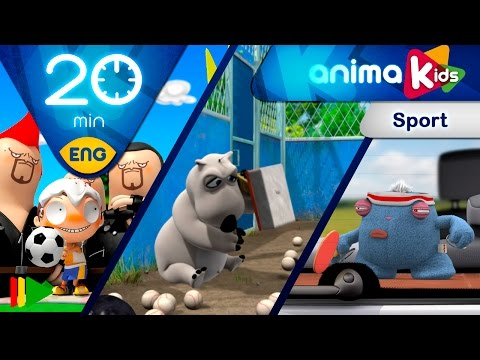 Sports and Cartoons | Animation for Kids | 20 minutes