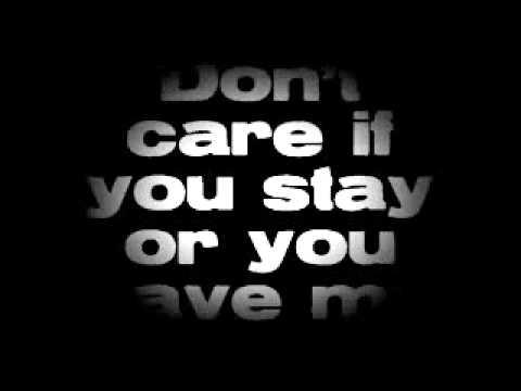 So What If You Go by Adelitas Way lyrics
