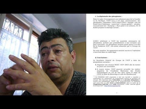 فضيحة  فوسفاط المغرب يسرق ويعطى كهدية لدول أخرى