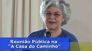"""A Médium Isabel Salomão de Campos """"A Vontade de Deus é a nossa Paz, nossa alegria coletiva."""""""