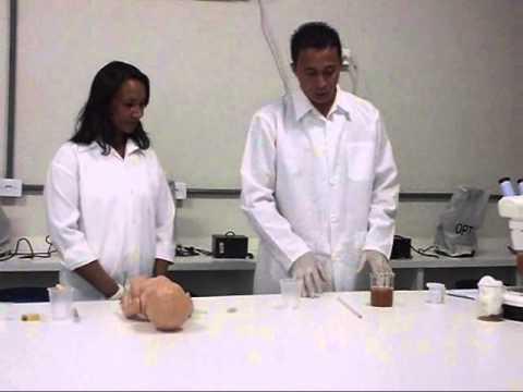 Video de Parasitologia:método de HPJ e Granham