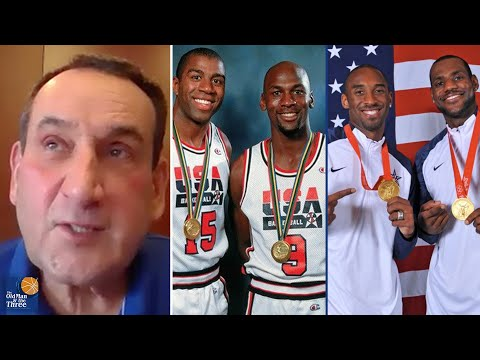 Who Wins Between Michael Jordan and The Dream Team vs. LeBron James and The Redeem Team | Coach K